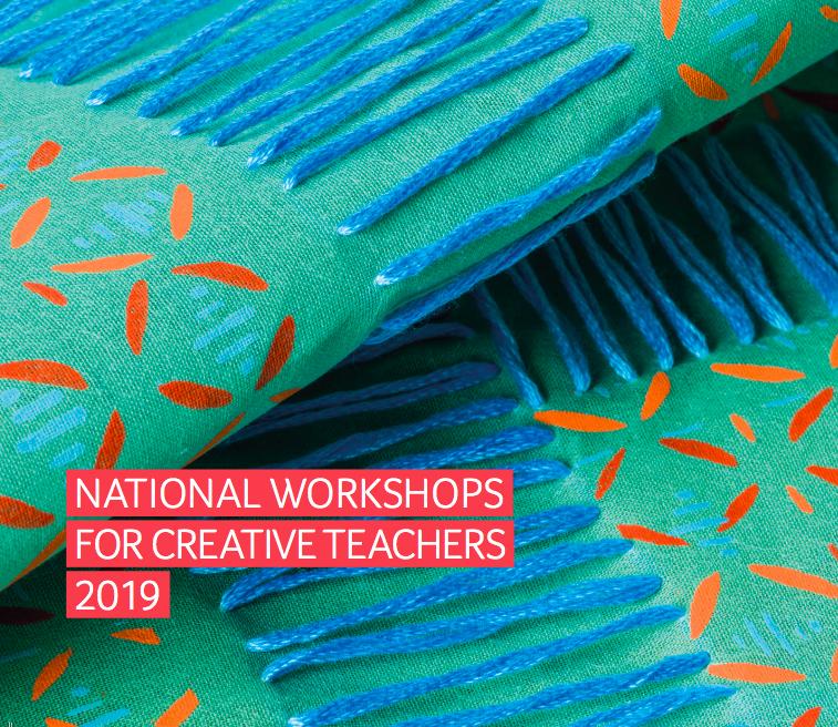 National Creative Workshops – Summer 2019