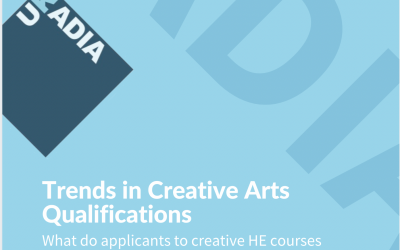 Trends in creative arts qualifications